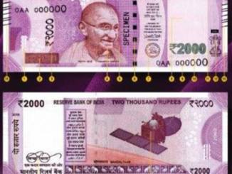 New 2000 INR notes