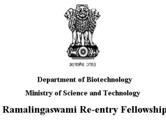 Ramalingaswami Fellowship